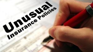unusual insurance policies
