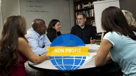 non profit group meeting