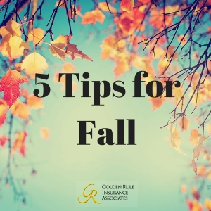 5 tips for fall